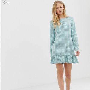 😍Cotton polca dot dress